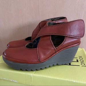 Brand New FLY LONDON Wedge Shoes